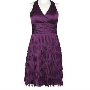 "Halter dress 👗. ""Hailey"" by Adriana Papell"